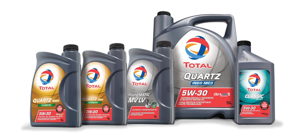 Total, motorna ulja, menjačka ulja