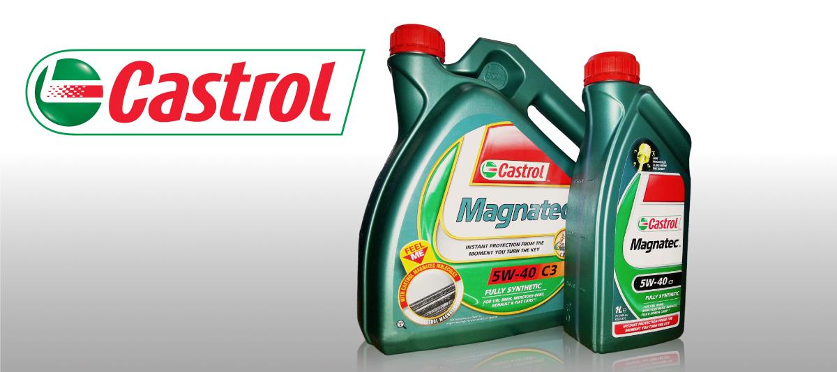 Castrol, motorna ulja, menjačka ulja